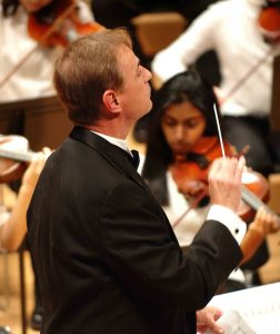 McCrae Hardy: Triangle Youth Symphony Conductor.