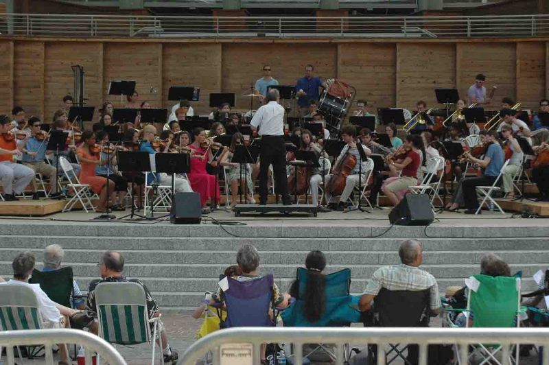 Anniversary Concert at Booth Amphitheatre