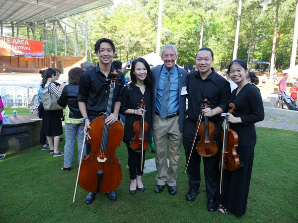 2017-18 Philharmonic Association String Quartet with Cary Mayor Weinbrecht