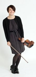 Photo of string quartet coach, Karen Galvin