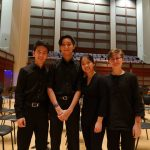 Musicians from PA string quartet