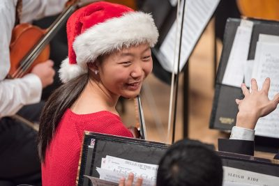 image from holiday concert