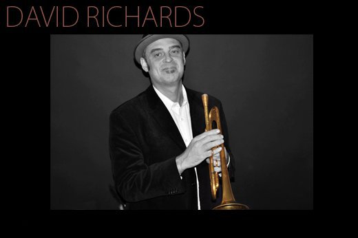 David Richards with trumpet