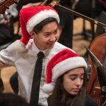TYP musicians at Holiday Concert