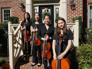 Philharmonic Association String Quartet members 2019