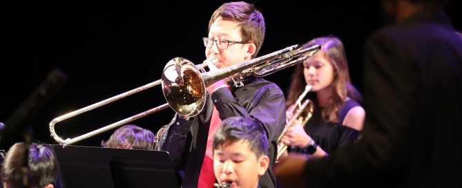 Musicians from Triangle Youth Jazz Orchestra