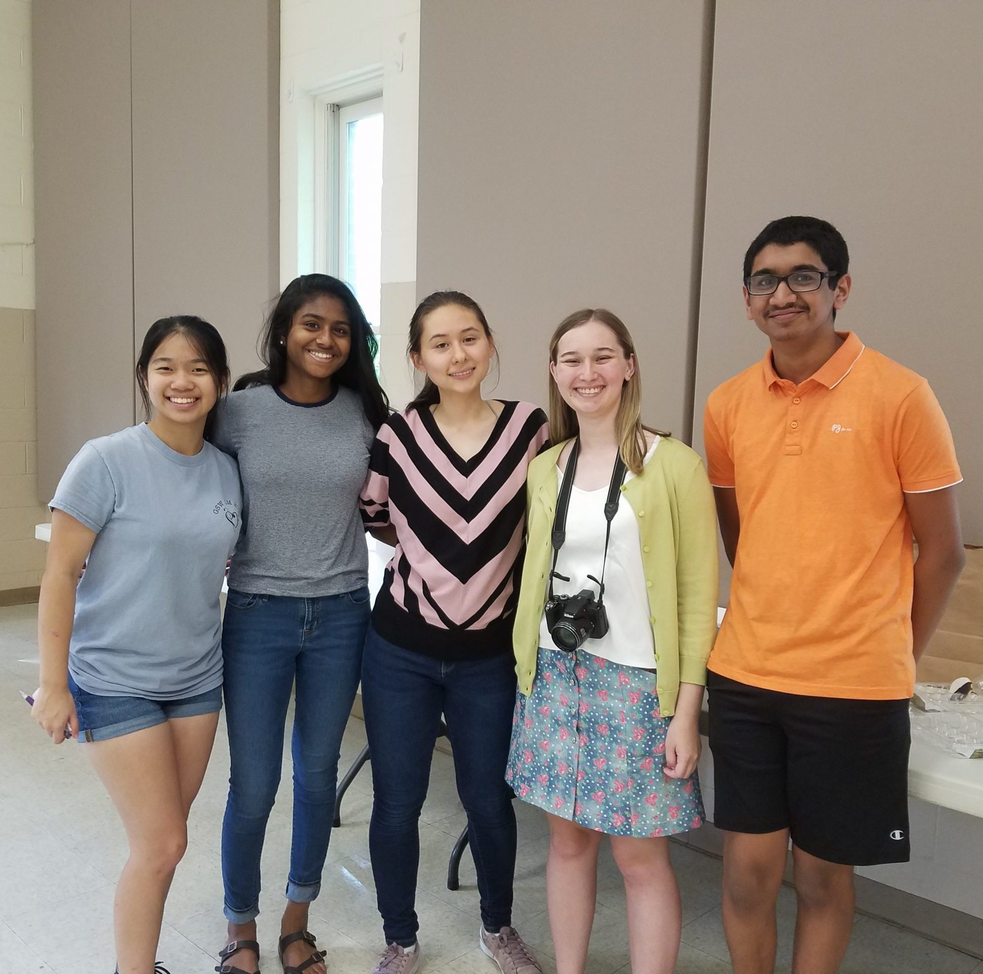 image of musician intern team from 2019-20